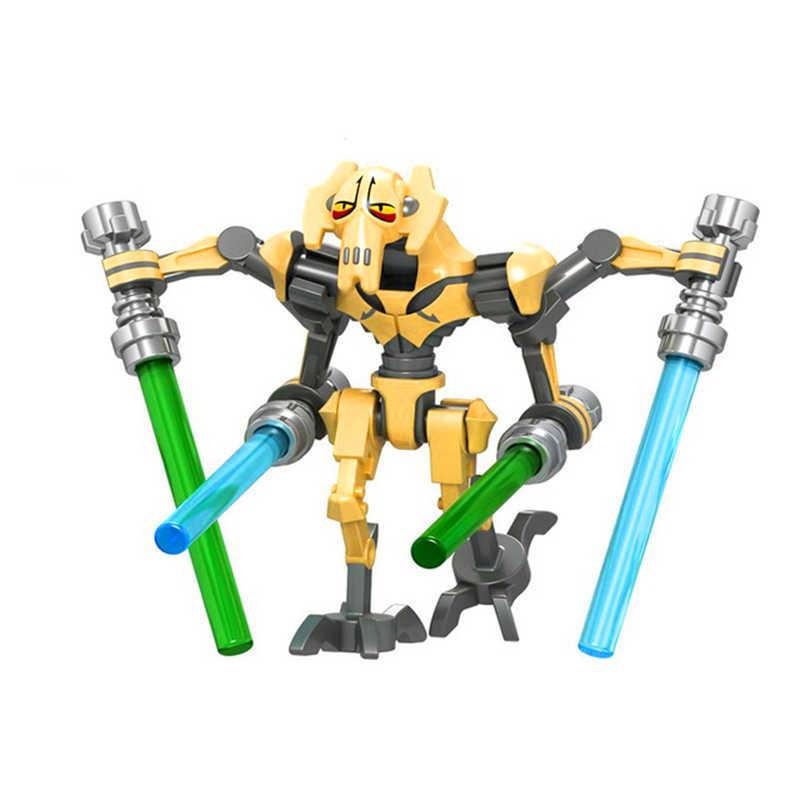 Звездные войны общая битва гривус мандалор Пробуждение силы фигурки Модель строительный блок игрушки техника подарок для детей