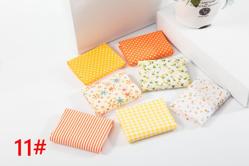 Hf3550142b6794c838b3f54928d123128s 25x25cm and 10x10cm Cotton Fabric Printed Cloth Sewing Quilting Fabrics for Patchwork Needlework DIY Handmade Accessories T7866