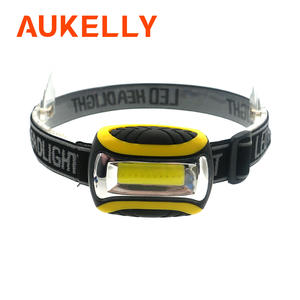 Aukelly LED Headlamp Torch-Lanterna Outdoor Mini Waterproof Camping COB for Night 4-Modes