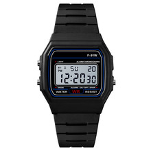 Fashion Plastic Watches Men Led Digital Watches Multi-functi
