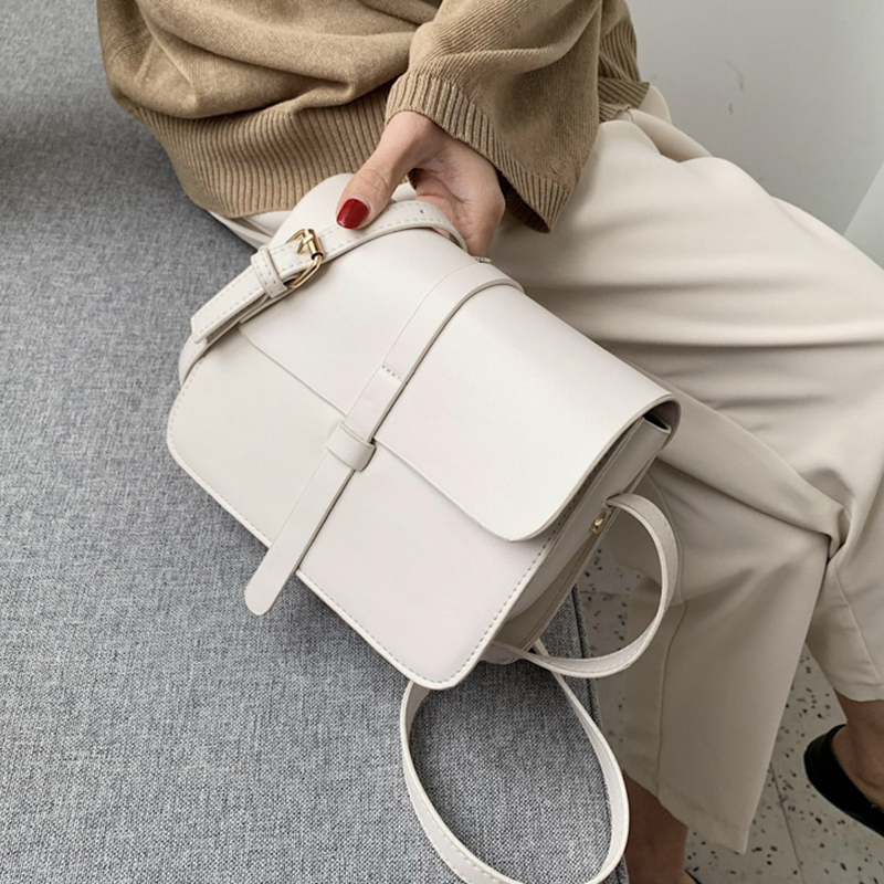 2020 Women PU Leather Crossbody Bags For Women Small Solid Colors Shoulder Bag Female Handbags And Purses Sac A Main Femme