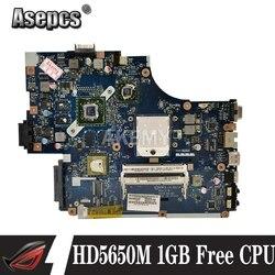 Para For Acer aspire 5551 5551g 5552 5552g computador portátil new75 LA-5911P mbpuu02001 placa principal hd5650m 1 gb cpu livre