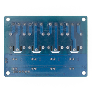 Image 2 - 10 adet TENSTAR ROBOT 4 kanal röle modülü 4 kanal röle kontrol panosu için optocoupler ile. Röle çıkışı 4 yönlü röle modülü