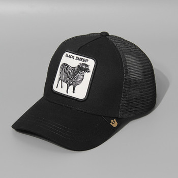 2020 Summer Mesh Embroidery Animal Cotton Men  Baseball Cap Hats For Women Snapback Gorras Trucker hats Hip Hop Caps TMA06 wolf baseball caps summer men and women trucker cap casual outdoor mesh cap hip hop snapback hats