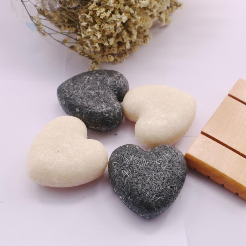 Natural Shampoo Soap Bamboo Charcoal Soap Polygonum Multiflorum Herbal Shampoo Soap Refreshing Scalp Hair Care Soap