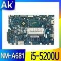 Для For Lenovo Ideapad 100-15IBD 100 15IBD CG410 CG510 NM-A681 материнская плата i5-5200U 920M 1GB