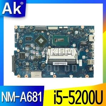 For Lenovo Ideapad 100-15IBD 100 15IBD CG410 CG510 NM-A681 Motherboard i5-5200U 920M 1GB