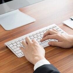 SANLEPUS Professional ultra-cienka klawiatura bezprzewodowa klawiatura Bluetooth 3.0 Teclado dla Apple dla systemu iOS z serii iPad