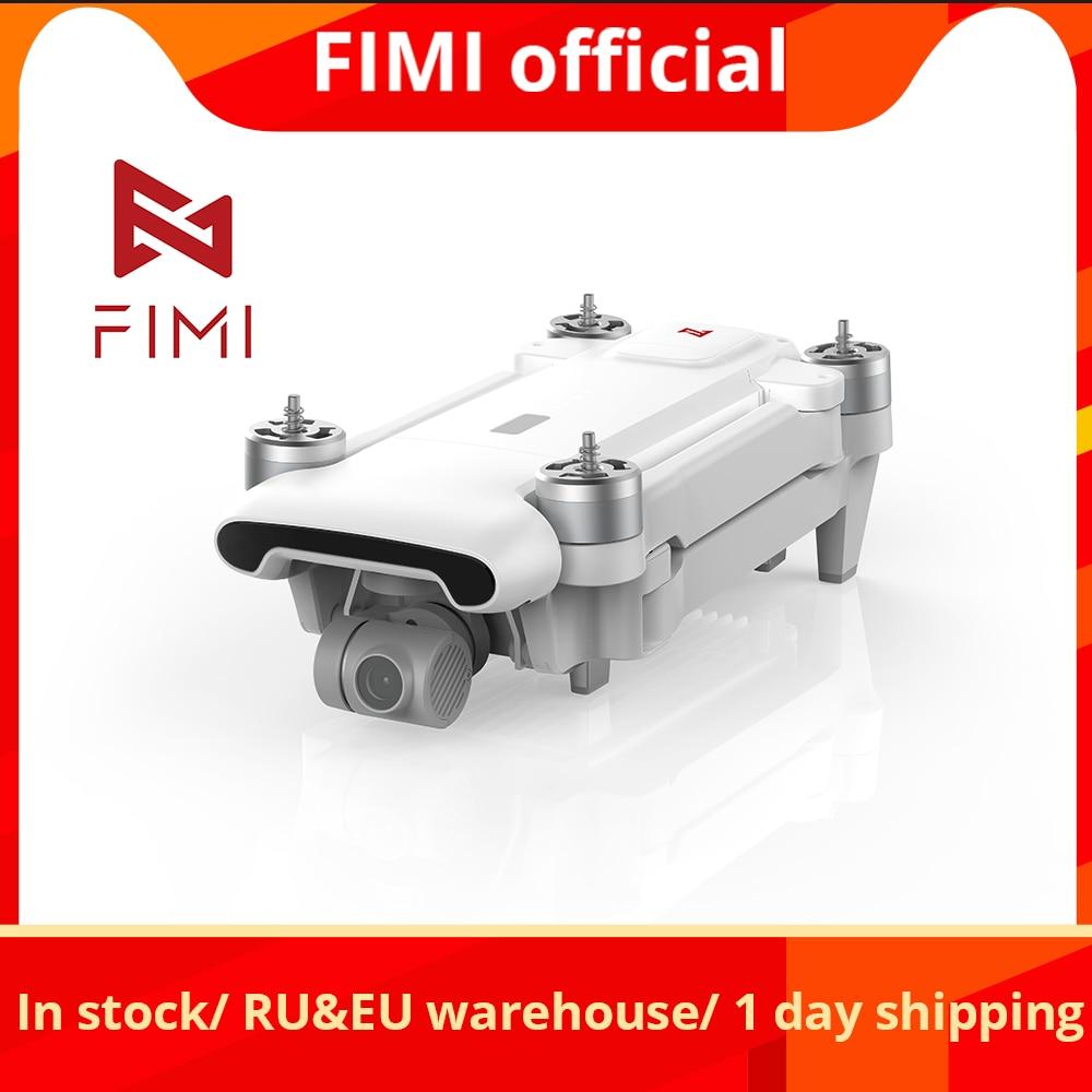 En stock FIMI X8SE 2020 version caméra Drone RC hélicoptère 8KM FPV 3 axes cardan 4K caméra GPS RC Drone quadrirotor RTF