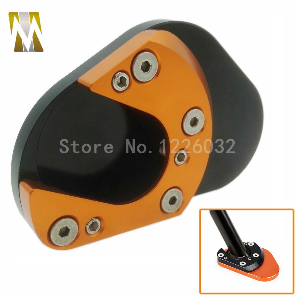 New Parts For KTM DUKE 125 200 390 2013 2014 2015 Motorcycle CNC Aluminum Side Stand Enlarge image