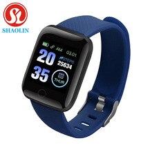 SHAOLIN mart zegarek tętno para zegarek inteligentne zegarki na rękę inteligentna opaska Smartwatch dla androida Apple Watch IOS pk IWO