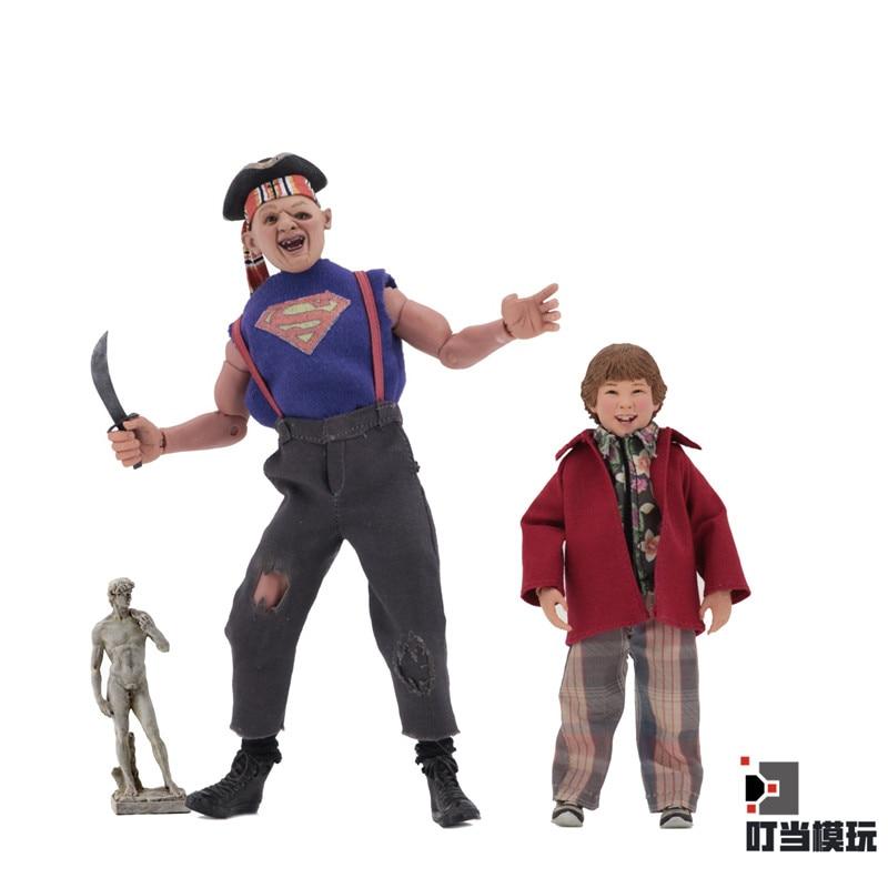 NECA Goonies IN-Stock 2PCS Action Figure Anime Toys Figure Gift