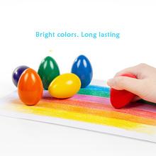 Kredki Kredki kreatywne 6 kolorów w pudełku olej dziecięcy pastelowe cukierki kolory olej pastelowe Kredki bezpieczeństwo dziecka nietoksyczne Kredki tanie tanio 6 kolory K0036 6 kolory box Wosk caryon Zestaw Art crayons