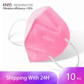 In stock KN95 Masks Filter Breathable Dust Mouth PM2.5 Face Mask Personal Protective Health Care Mask for Face Fast Shipping