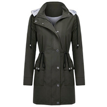 New Trench Coat For Women Autumn 2019 Mode Femme Plus Size Breasted Long Coat Women Double Windbreaker Outerwear new arrival autumn trench coat women loose clothing outerwear high quality double breasted women hooded long coat