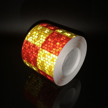 цена на 5cmx1m Reflective Tape Bike Stickers Reflective Safety Warning Conspicuity Reflective Tape Film Sticker