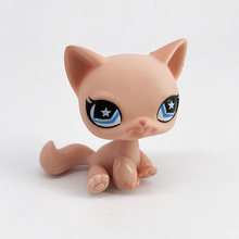 LPS CAT Old Pet Shop Cute Toys Mini Short Hair Kitten HIMALAYAN Kitty Husky Dog Spaniel Collie Great Dane Rare Figure Collection new lps pet shop great dane really rare pet dog yellow white red brown genuine lps collection stand figure best child gift