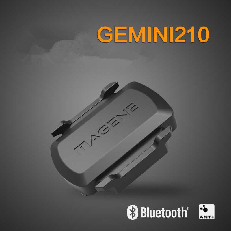 GPS コンピュータスピードとケイデンスデュアルセンサーバイク速度とケイデンス ANT + Bluetooth のためのガーミン Strava iGPSPORT Bryton