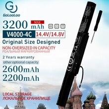 Golooloo 4 komórki akumulator do laptopa do Lenovo Y50C Z41 70 ideapad Z51 70 Z41 Z51 500 L14S4A01 L14L4E01 L14M4A01 L14M4E01 L14S4A01