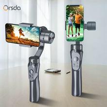 Orsda h4 axis cardan handheld smartphone para tik tok ação câmera gopro telefone estabilizador celular vídeo registro