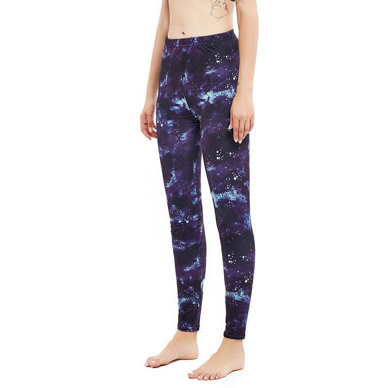 9331 Yoga Pants Women's Dark Color Asos Tonga Yoga Printed Leggings Women's Fitness Running Buttock Lifting Leggings