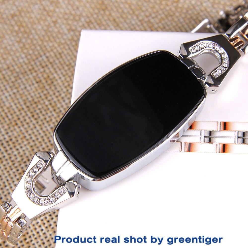 Hf356e11376cd4f298167189df91252c7u Greentiger H8 Smart Bracelet Women Activity Fitness Tracker Heart Rate Monitor Blood Pressure IP67 Waterproof Smart Wristband