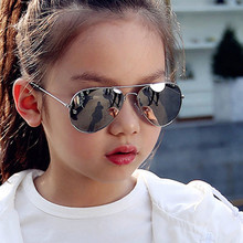 Boys Sunglasses Kids Children Design Brand Gafas Oculos Piolt-Style