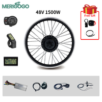 Ebike Elektro-fahrrad Conversion Kit 48V 1500W Vorne Nicht-Getriebe Motor 20
