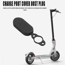 M365 Electric Scooter Charging Interface Silicone Cup Charge Port Cover Dust Plug Skateboard Accessories Parts(China)