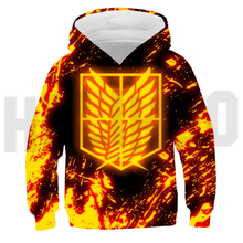 Oversized Pullover Titan-Season Attack On 4 Hoodies Sweatshirt Anime Japanese Streetwear