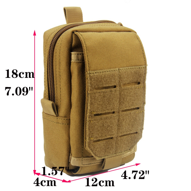 Details about  /Molle Tactical Utility EDC Pouch Hiking Military Phone Pack Hip Belt Case bag