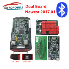 Real v9.0 multidiag placa dupla com bluetooth caminhão do carro ferramenta de diagnóstico tcs 2016.0 mais novo/2015.3 keygen software com cabos