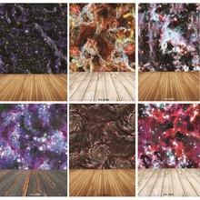 цена на Vinyl Custom Photography Backdrops Prop  Space Starry Sky and floor Theme Photography Background FA20419-92