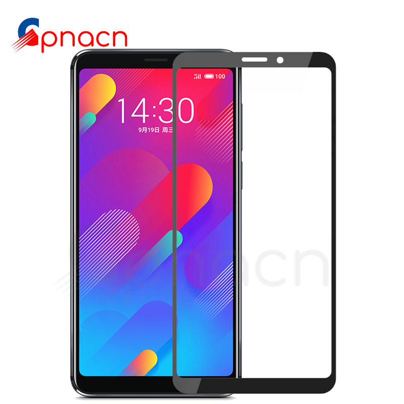 9D Full Cover Protective Glass For Meizu M8 Lite M8 M6 M5 Note M6S M6T M5S M5C V8 Pro Tempered Screen Protector Glass Film Case