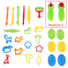 Model Plasticine DIY Tools Toy Creative 3D Plasticine Tool Play Dough Clay Moulds Carving Tools Set Kids Learning Education Toys creative toys magnetic plasticine