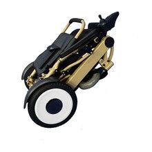 yl K1+yl M12 24v electric folding wheelchair brushless motor and joytsick controller CE/EMC/LVD Certifiatcion ce emc lvd fcc 6g stainless steel ozone water treatment
