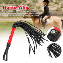 Accessories Riding Racing-Horse Whip Portable Red-Handle Gift-Props Hanging Non-Slip