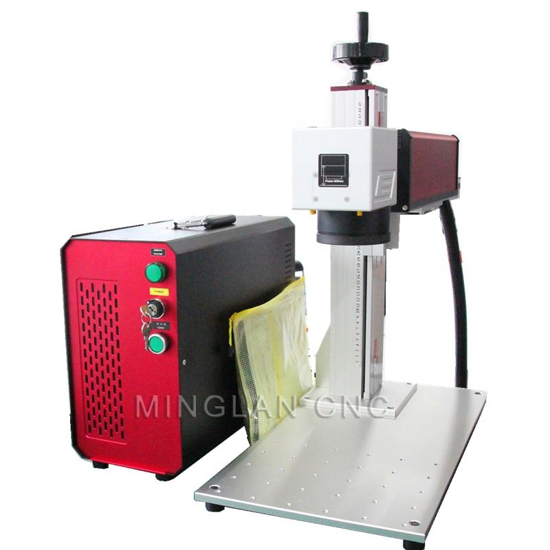 20W Raycus Laser Marking Machine Fiber Laser Metal Engraving Serial Number Printing Machine