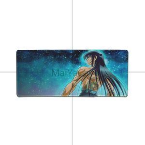 Image 5 - MaiYaCa saint seiya anime Comfort Mouse Mat Gaming Mousepad Big Promotion Russia mouse pad Keyboard Laptop PC notebook desk pad