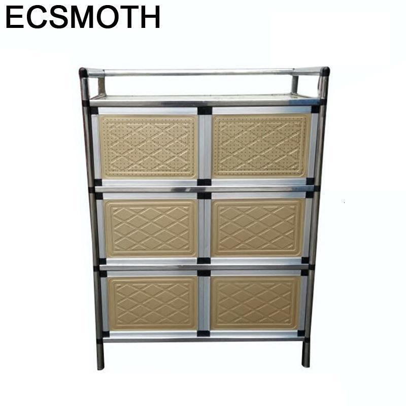 Comedores Capbords End Tables Sideboard For Room Aluminum Alloy Kitchen Furniture Meuble Buffet Mueble Cocina Cupboard