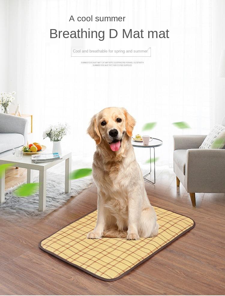 Противоскользящий коврик для домашних животных укуса всесезонный
