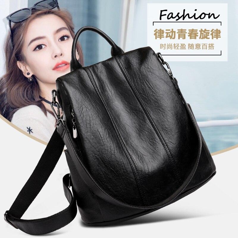 Минималистичный женский рюкзак yilian модная трендовая универсальная