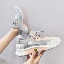 2020 Women Gym Vulcanized Tenis Feminino Factory Direct Women Casual Shoes Fashion Breathable Walking Mesh Flat Shoes Sneakers women casual shoes fashion breathable walking mesh flat shoes woman white sneakers women 2020 tenis feminino gym shoes sport m60