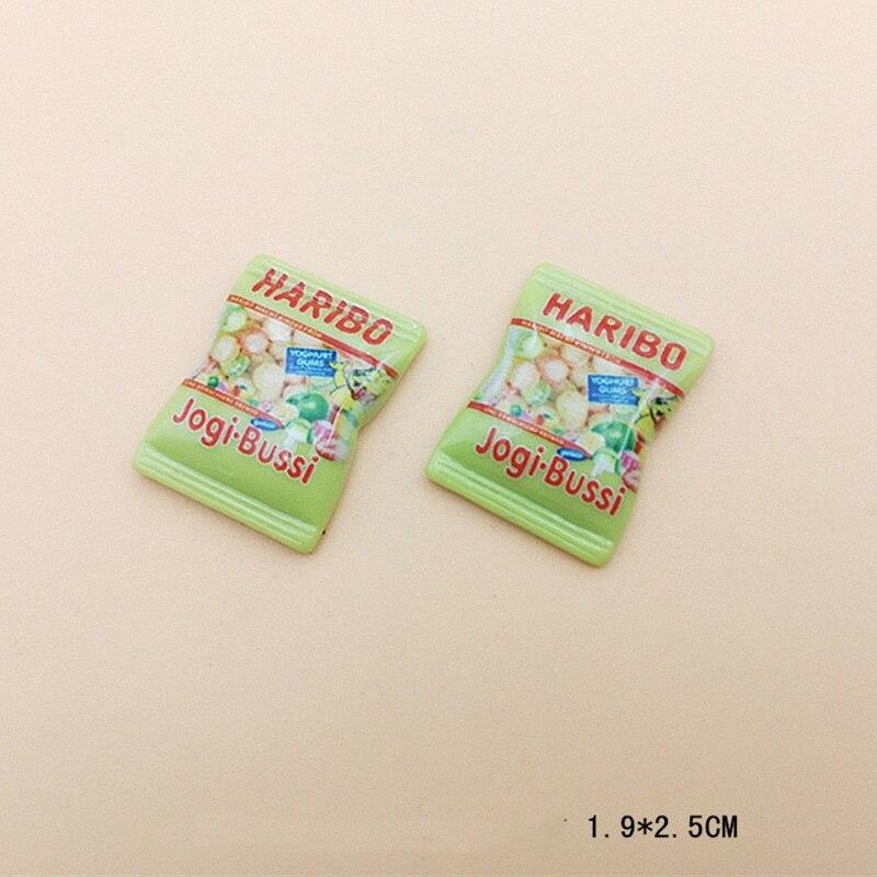 20 piezas de resina fideos instantáneos Artesanía comida falsos Cabujones Flatbacks Decoraciones