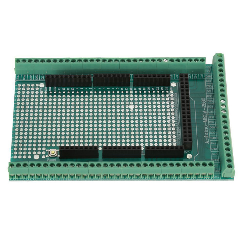 Prototype PCB For Arduino MEGA 2560 R3 Shield Board DIY Game Console Accessories