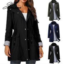 Xnxee Winter Autumn Women Long Jacket Female Casual Coat Bomber Jacket Basic Outwear Loose Wind Coats 2019 Fashion цена и фото