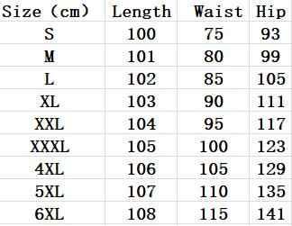 높은 허리 여성 연필 바지 2020 캔디 색상 플러스 크기 5XL 6XL 숙녀 바지 화이트 블랙 레드 Femme Pantalon DV249