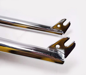Image 3 - 4130 CR MO BMX フロントフォーク 28.6 ミリメートル 160 ミリメートル高性能バイクのフォーク自転車フォーク