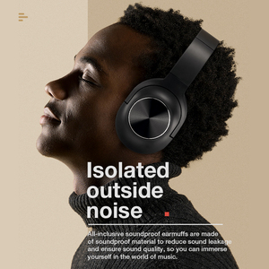 Image 4 - SANLEPUS سماعة رأس بلوتوث لاسلكية ، سماعة رأس استريو محمولة مع ميكروفون للموسيقى لأجهزة iPhone و Samsung و Xiaomi
