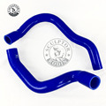 Silicone Radiator Heater Hose Kit For  91 01 JEEP CHEROKEE XJ 4.0 l6|Hoses & Clamps| |  -